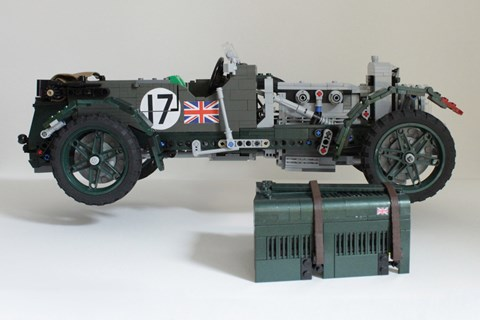 lego bentley blower side