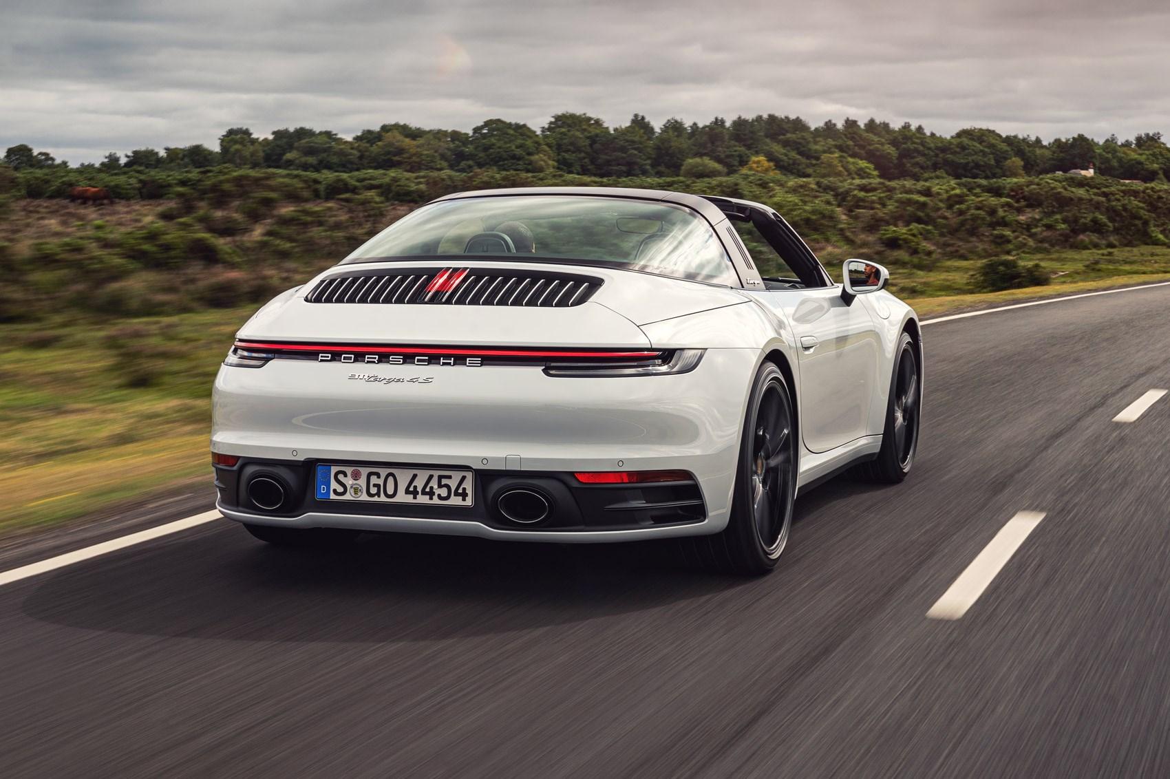 Porsche 911 Targa 4s 2020 Review The 992 Gets A Greenhouse Car Magazine