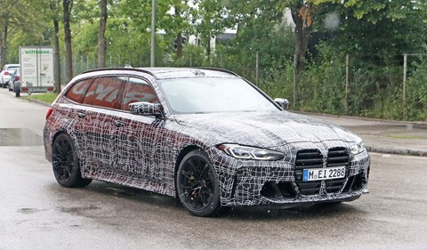 BMW M3 Touring spy photos by CAR magazine