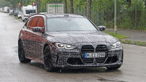 New 2022 BMW M3 Touring: new spy photos and news