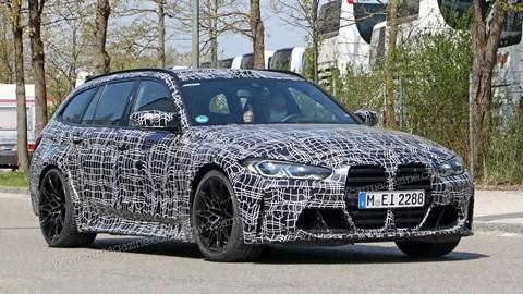 BMW M3 Touring spy photos by CAR magazine