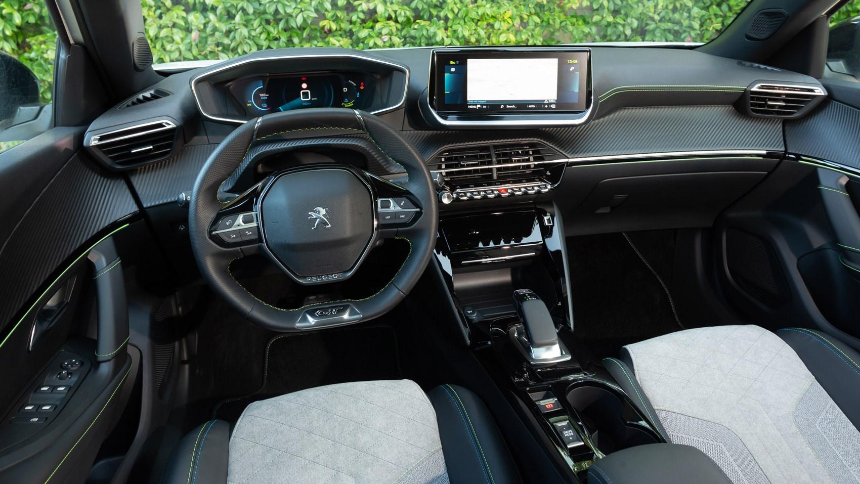 e2008 interior