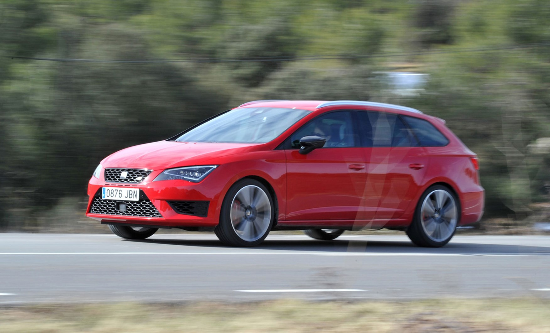 seat leon st cupra 280 2015 review by car magazine. Black Bedroom Furniture Sets. Home Design Ideas