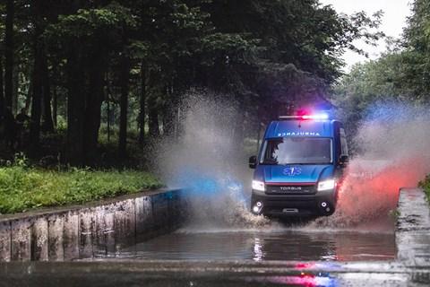 terrastorm ambulance