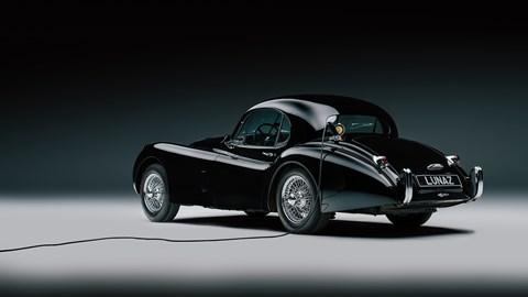 Lunaz converted Jaguar XK120