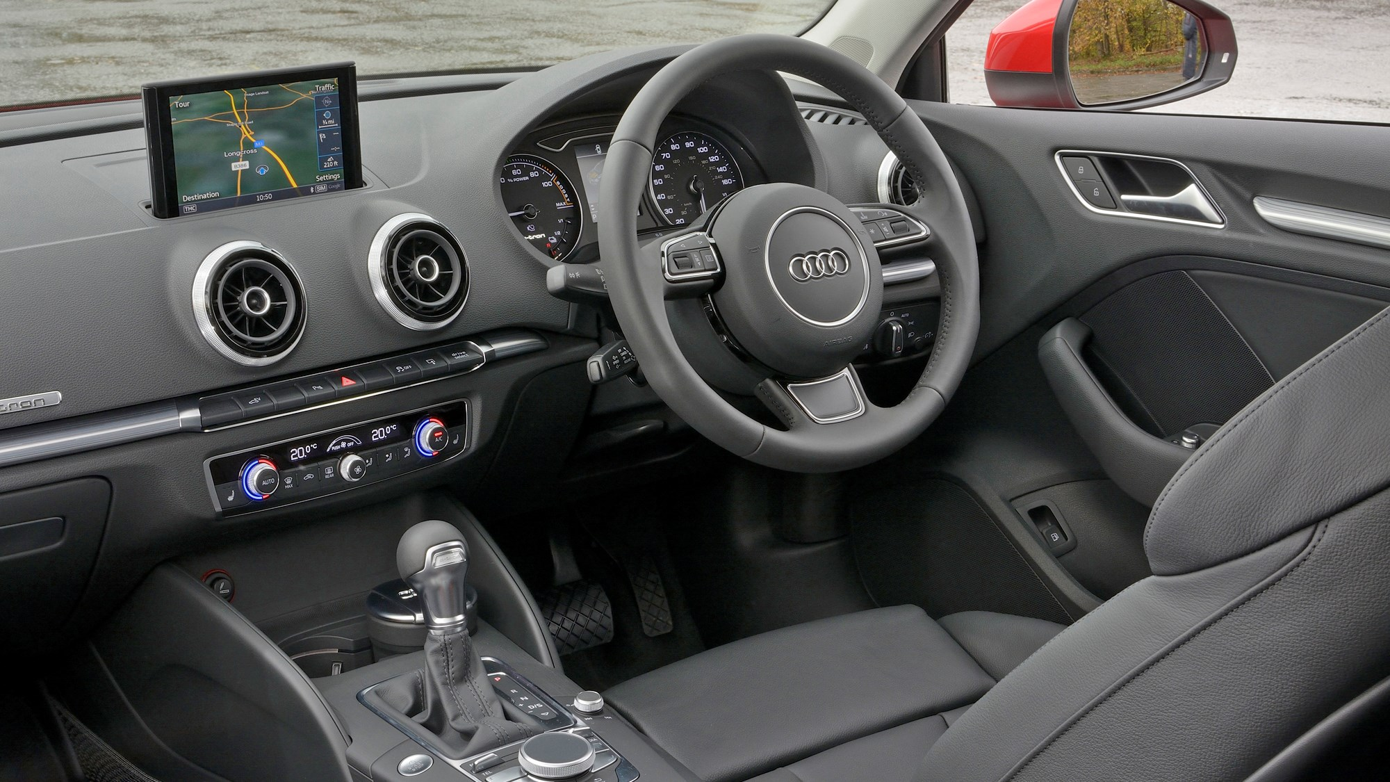 2014 Audi A3 Sportback e-Tron dashboard