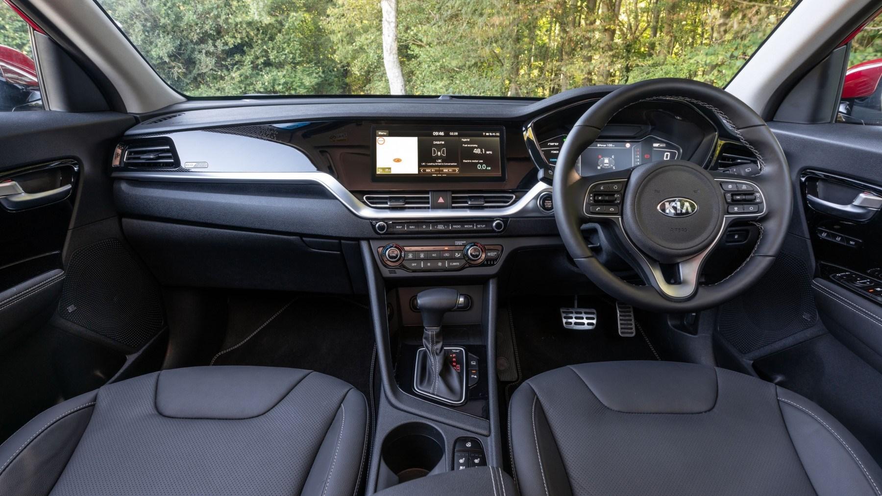 2020 Kia Niro Hybrid, interior