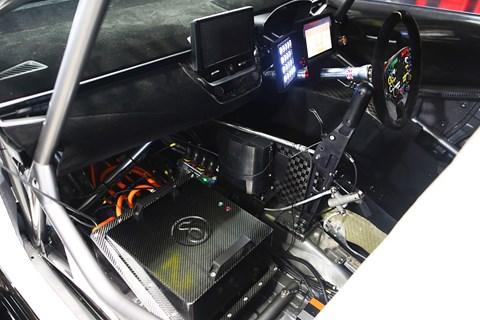 hybrid btcc interior