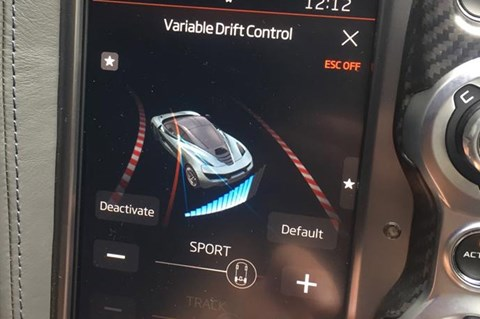 Variable drift screen 2