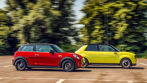 Mini Electric and Honda E: the old world meets the new