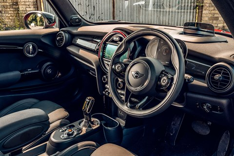 Mini Electric interior: feeling its age now