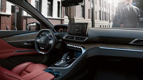 Peugeot 3008 interior 2020 facelift