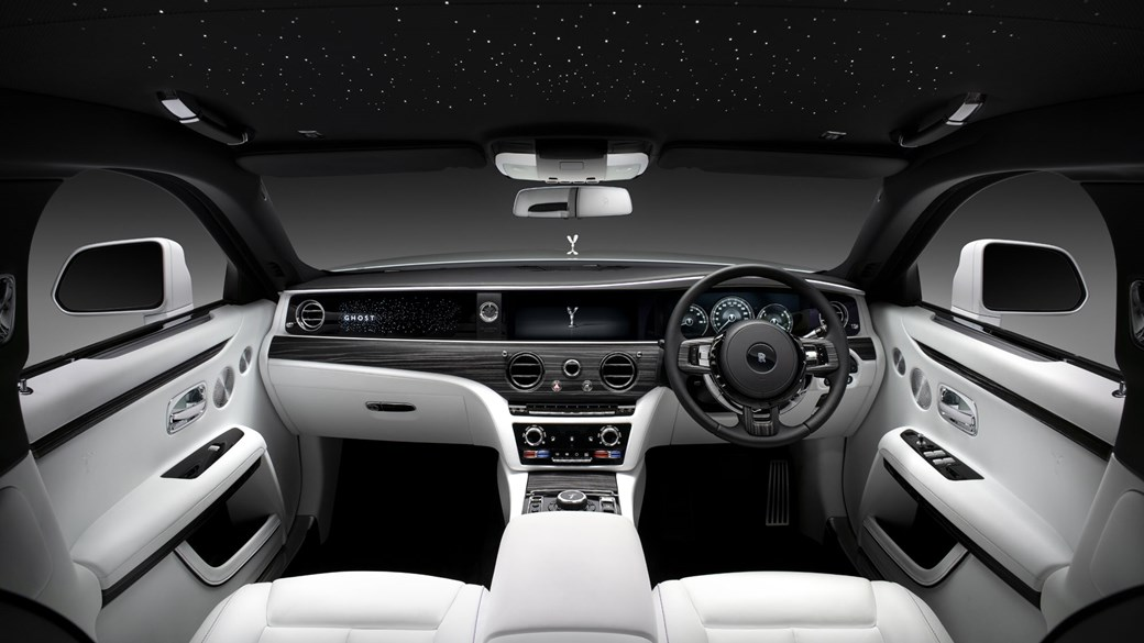 Rolls-Royce Ghost, 2020, interior, front