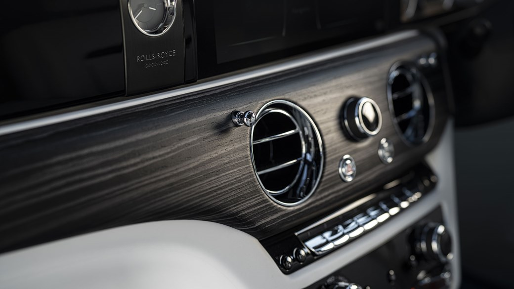 Rolls-Royce Ghost, 2020, interior, centre console detail