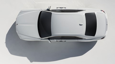 Rolls-Royce Ghost, 2020, white, top view