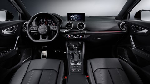 Audi Q2 2020 facelift, interior