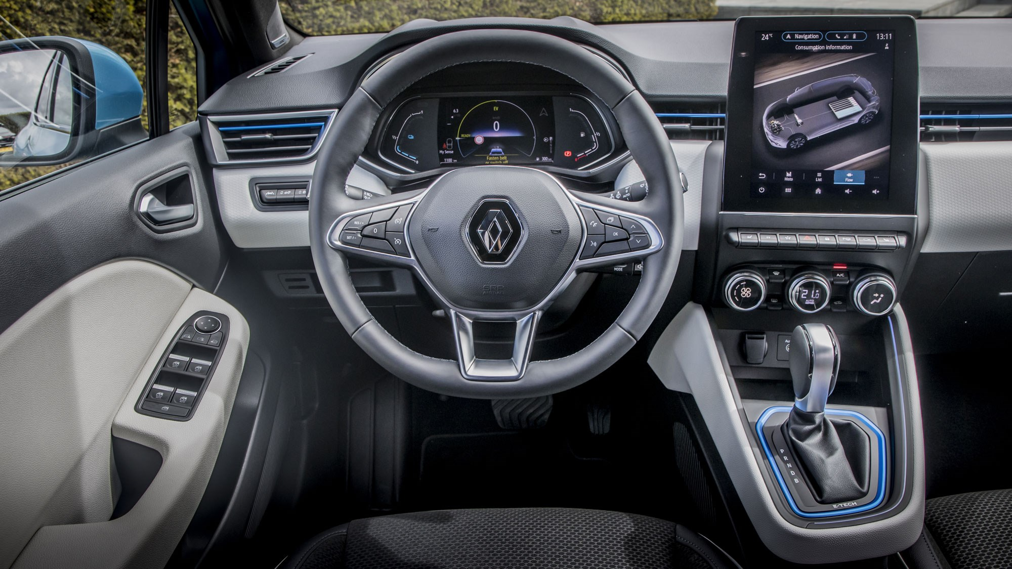 Renault Clio E-Tech hybrid review, 2020, interior