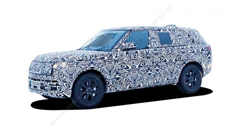 Gotcha: our spies have already caught the new 2021 Range Rover on test