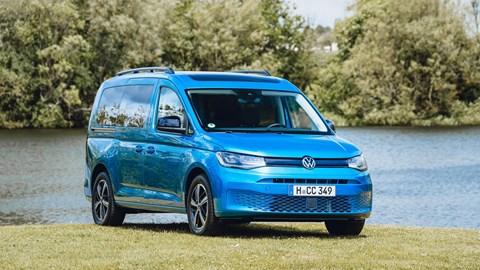 Volkswagen Caddy California - front three quarter