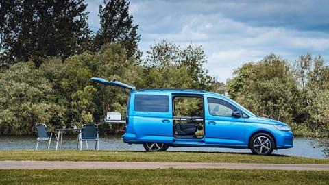 Volkswagen Caddy California - side profile