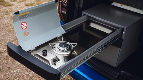Volkswagen Caddy California - kitchen
