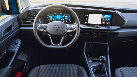 Volkswagen Caddy California - cab