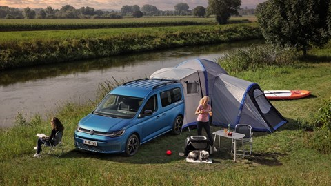 Volkswagen Caddy California - with awning