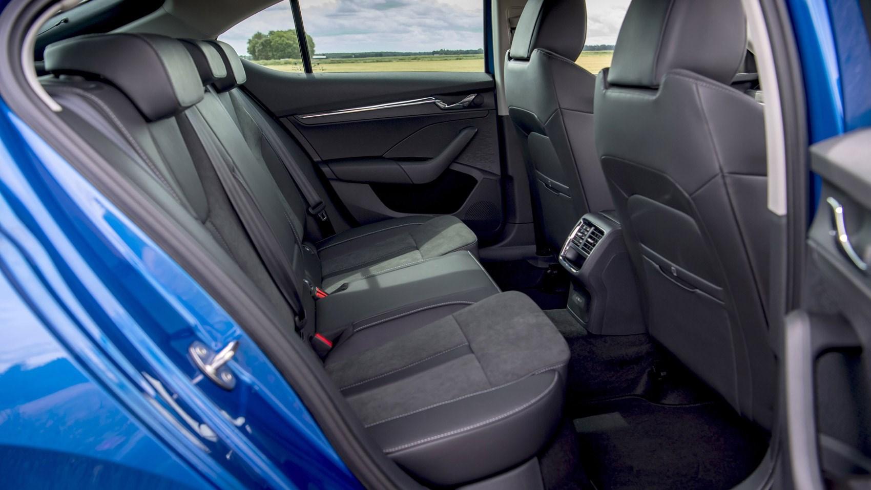 Octavia rear seats