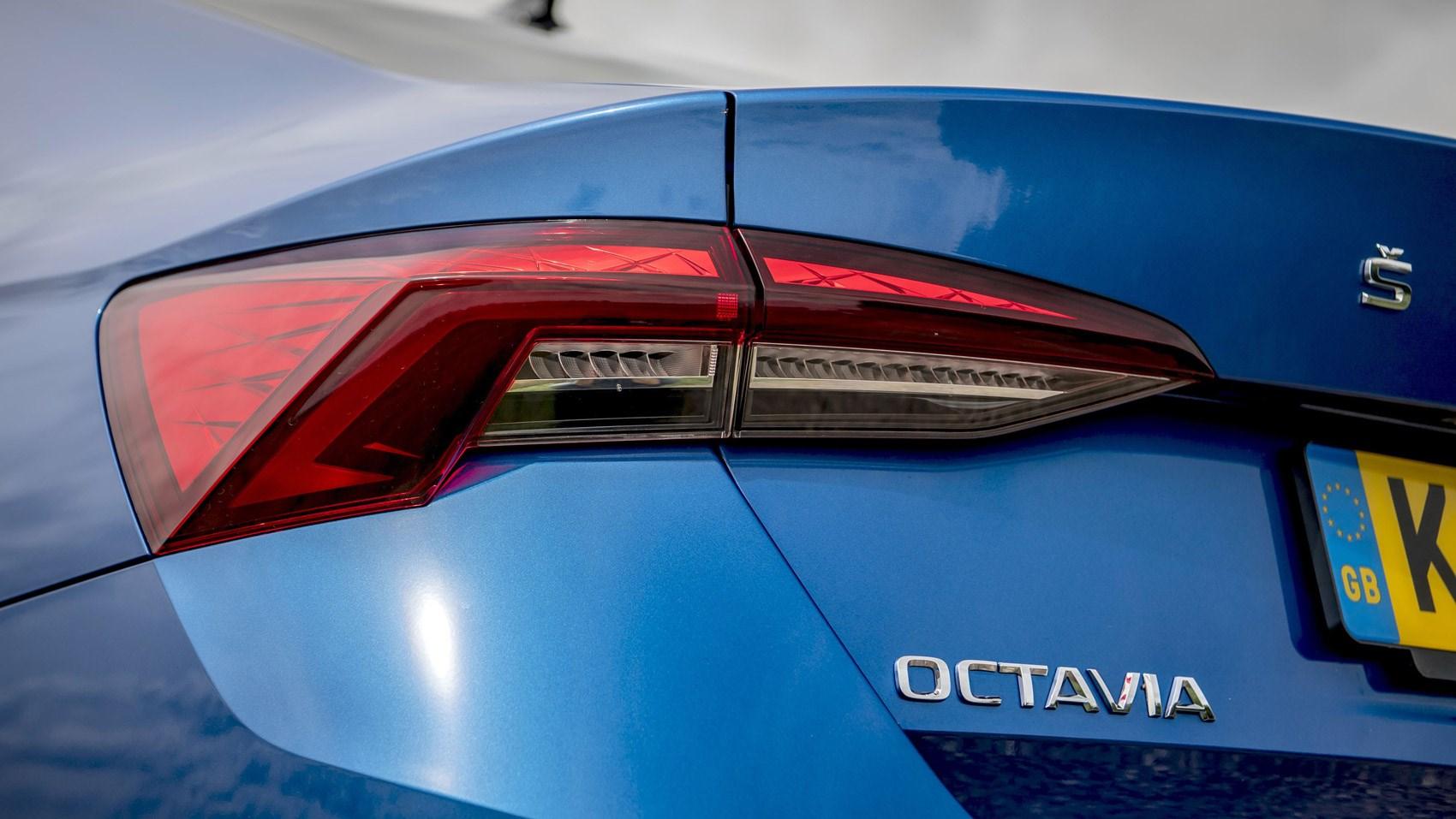 Octavia rear light