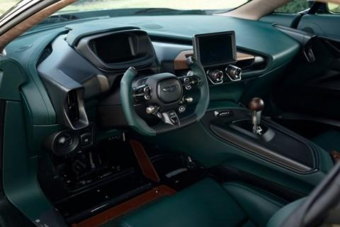 Aston Victor interior