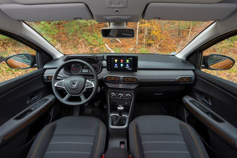 Dacia Sandero (2021) interior