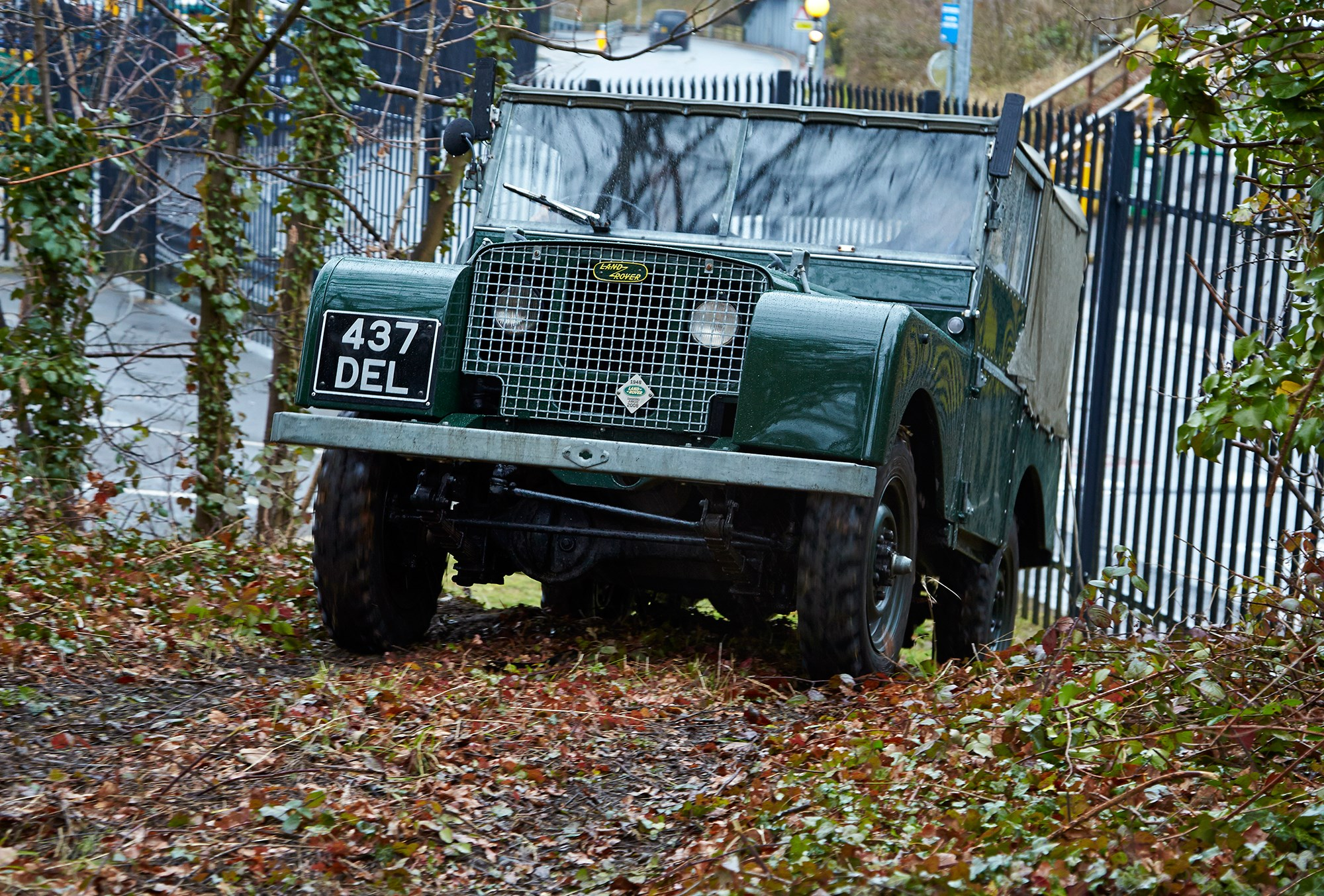 Mud Buddies Driving A 1949 Land Rover Series 1 And