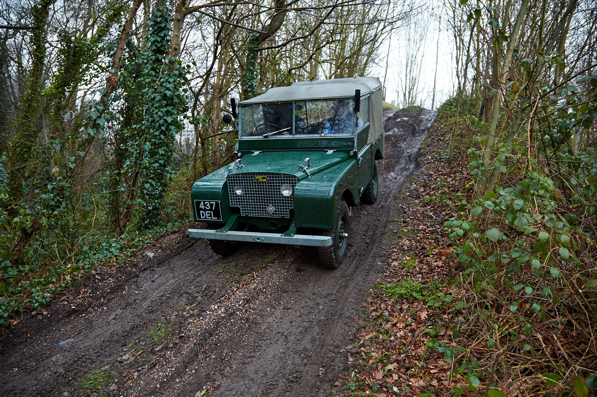 Mud-buddies: driving a 1949 Land Rover Series 1 and ...