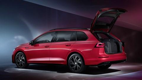 2020 Volkswagen Golf Estate - rear three quarter
