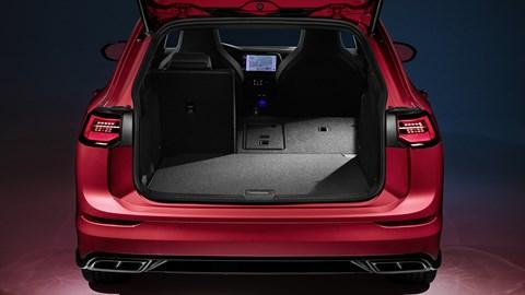 2020 Volkswagen Golf Estate - boot