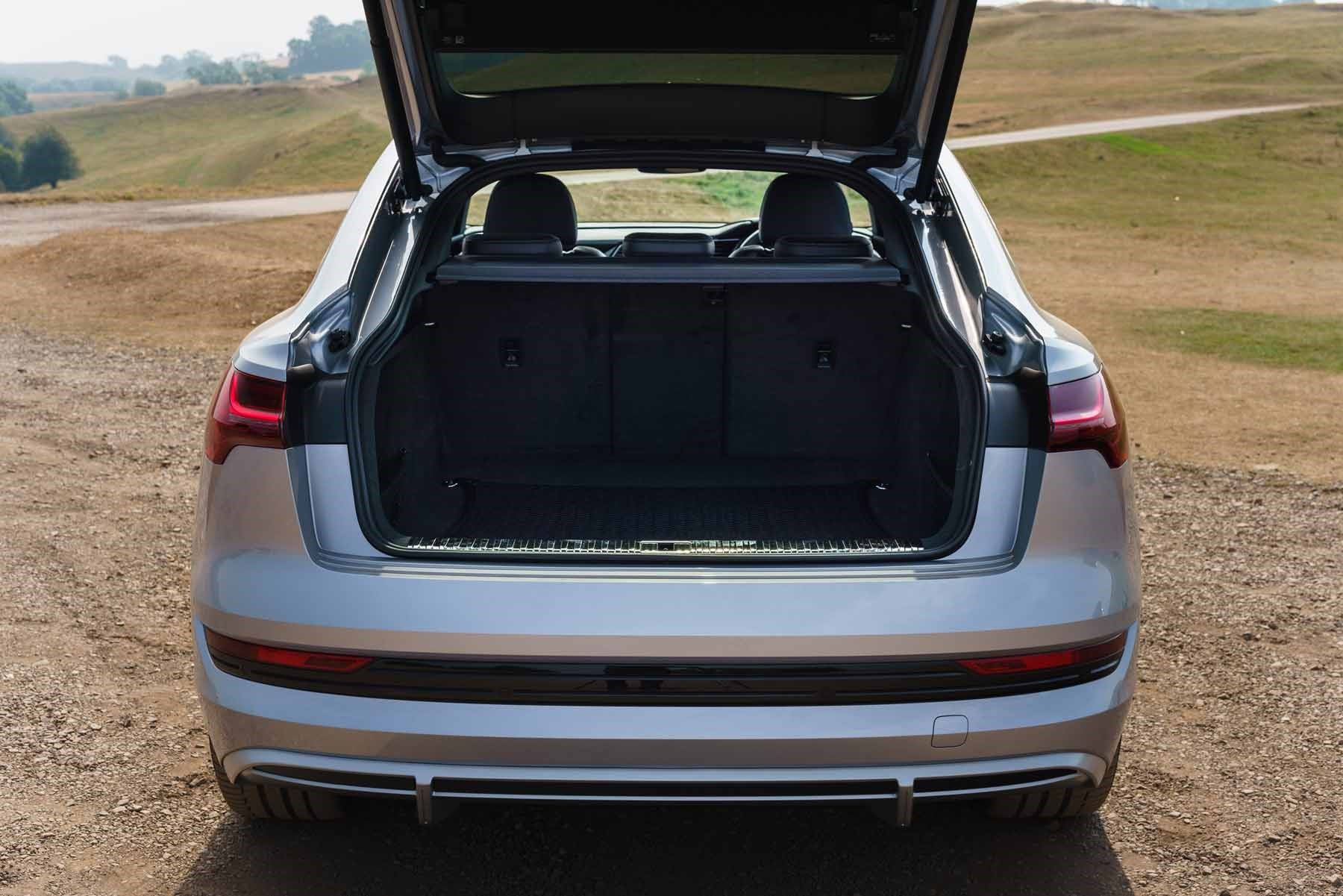 Audi e-Tron Sportback boot