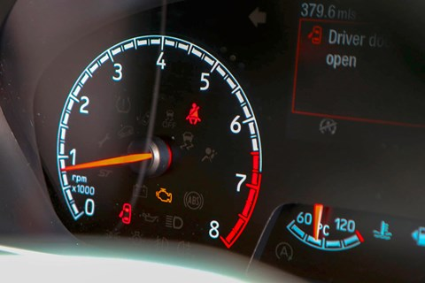 Focus ST LTT engine light