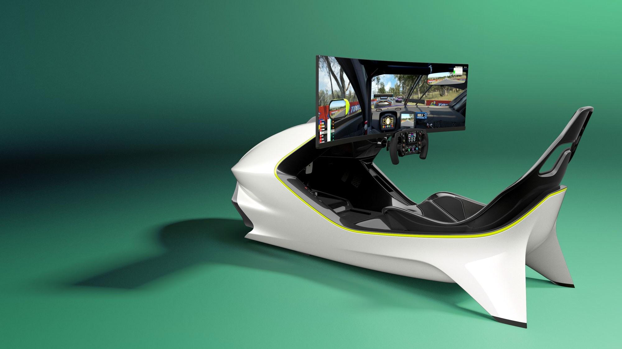 Aston Martin AMR-C01 is a £57500 luxury racing simulator