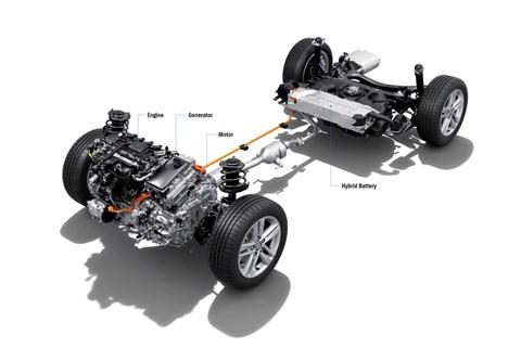 2020 Suzuki Swace powertrain