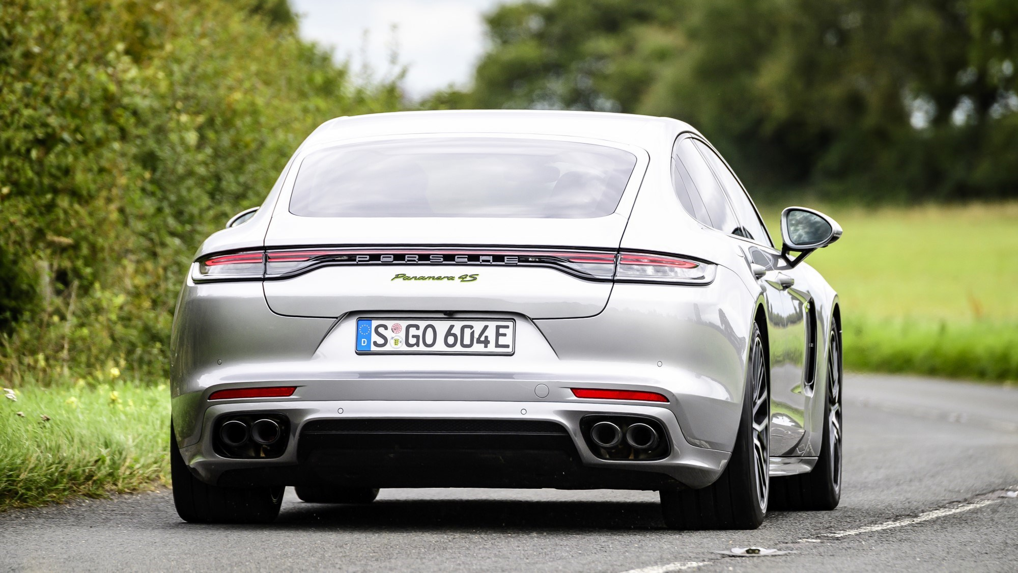 2020 Porsche Panamera hybrid - rear
