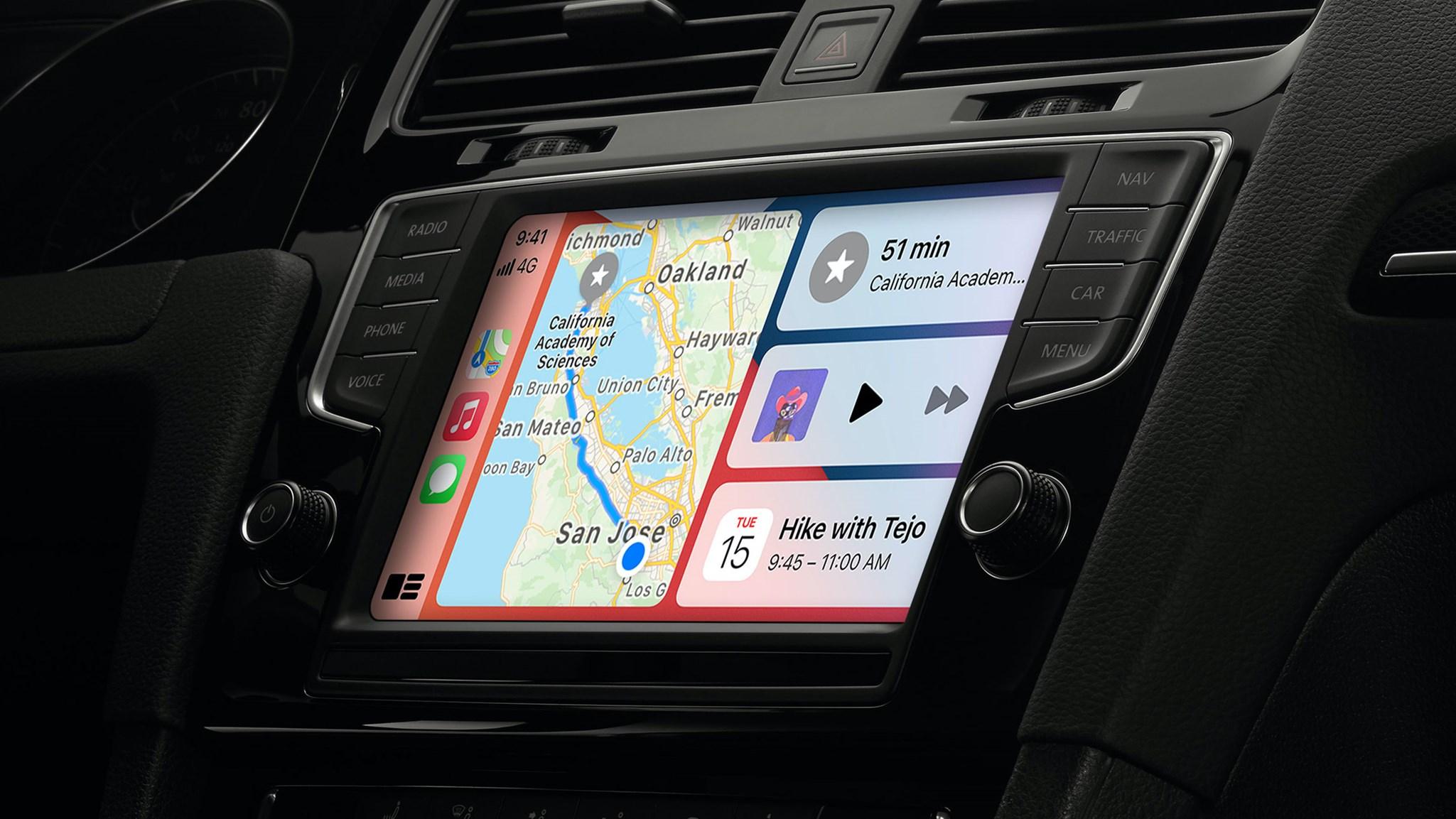 Apple updates iOS 14 with CarPlay enhancements