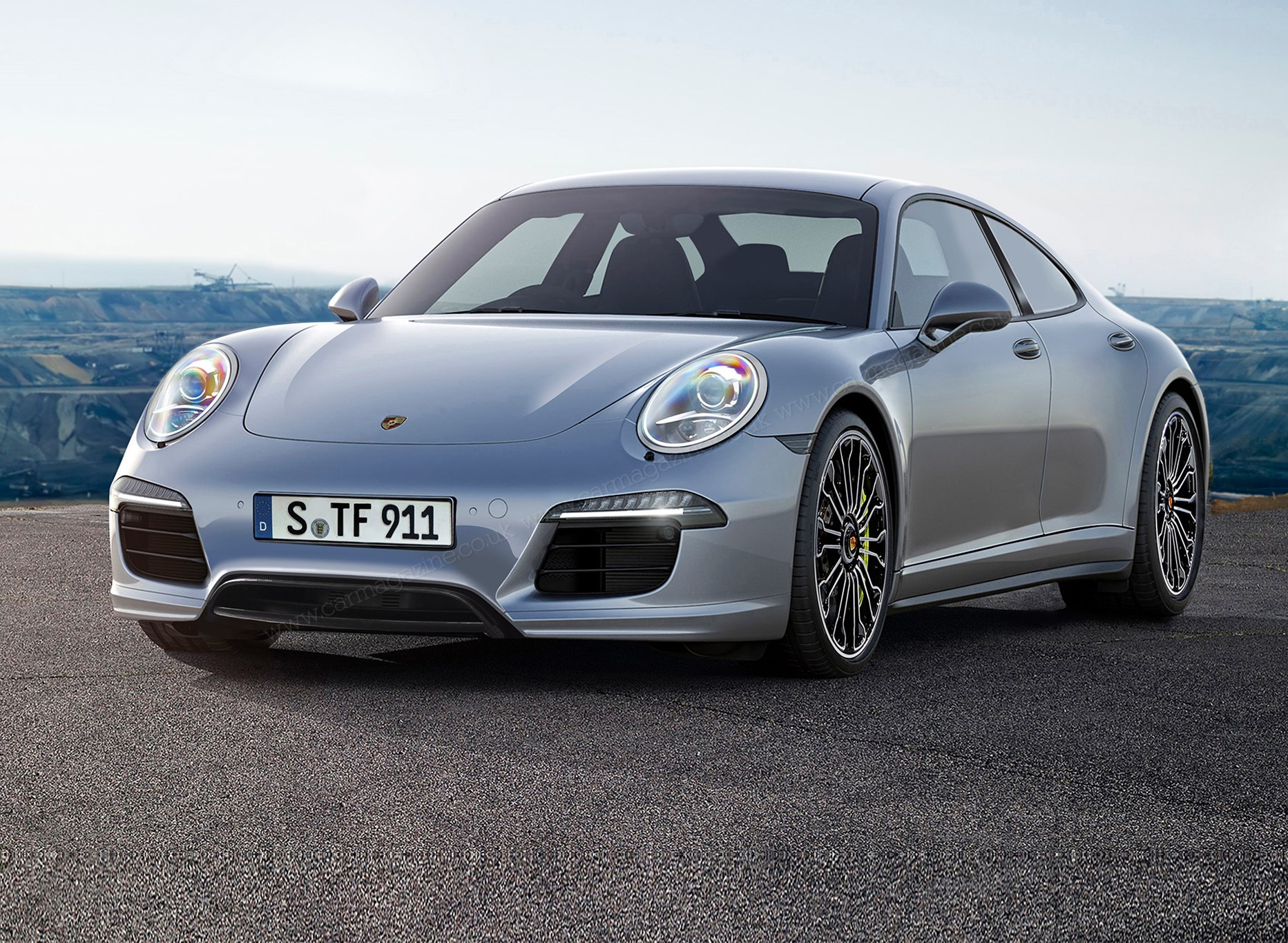Porsche 717 Revealed 2019 S Battery Powered Tesla Rival