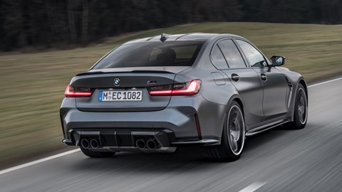BMW M3 xDrive rear tracking
