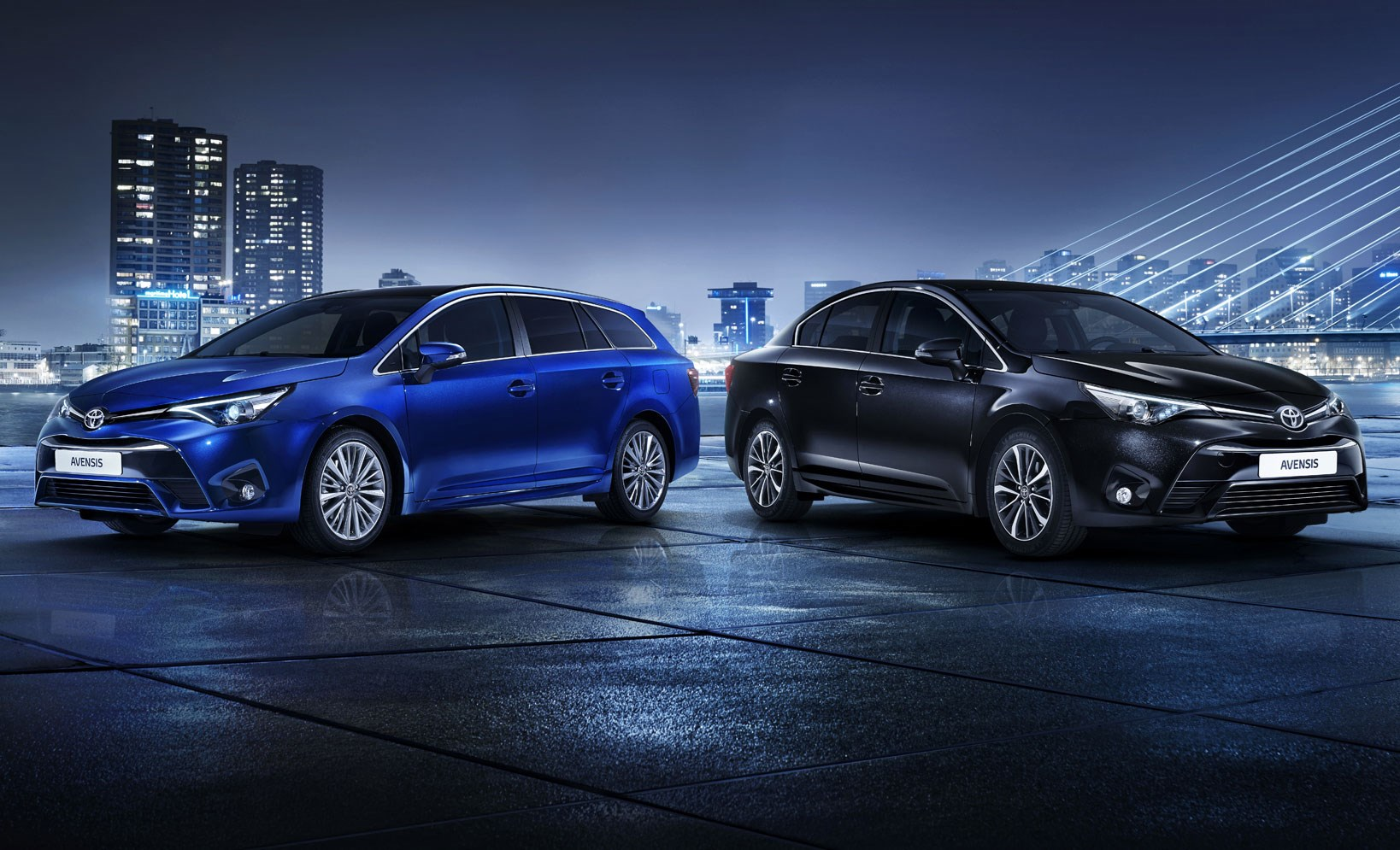 The 2015 facelifted Toyota Avensis range