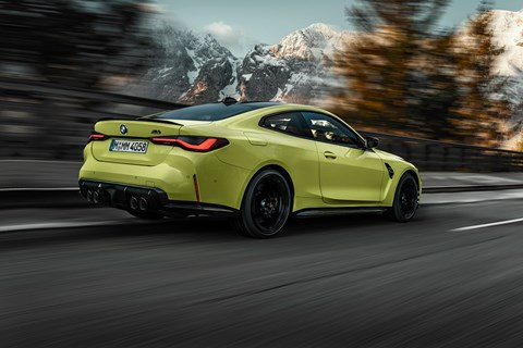 M4 rear tracking