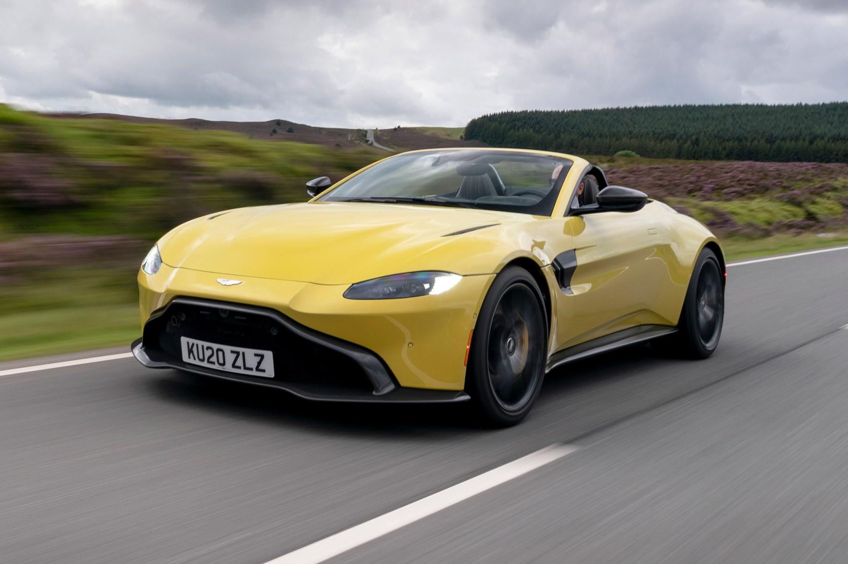 Aston Martin Vantage Roadster Review 2020 Car Magazine