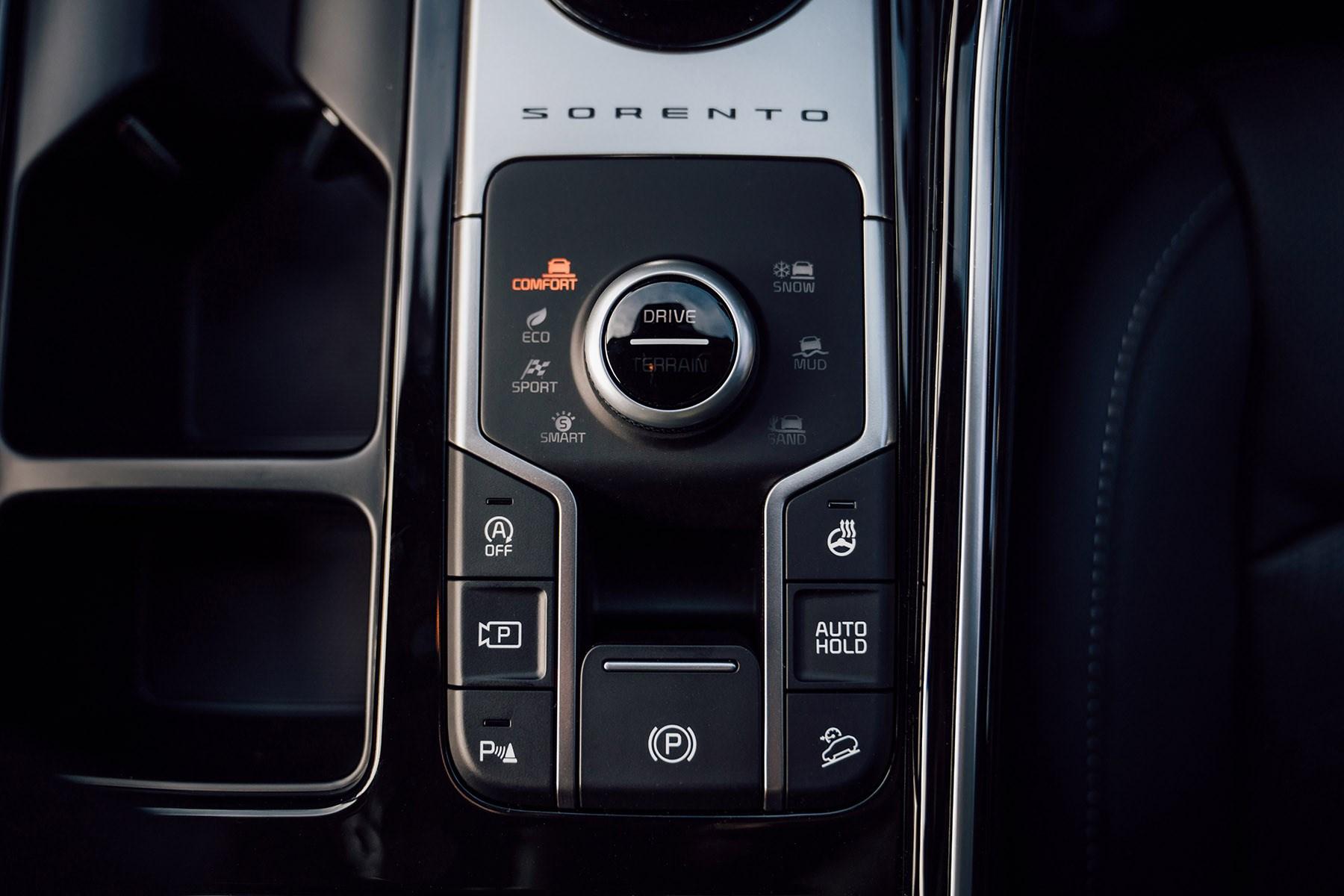 Kia Sorento 2020 drive mode selector