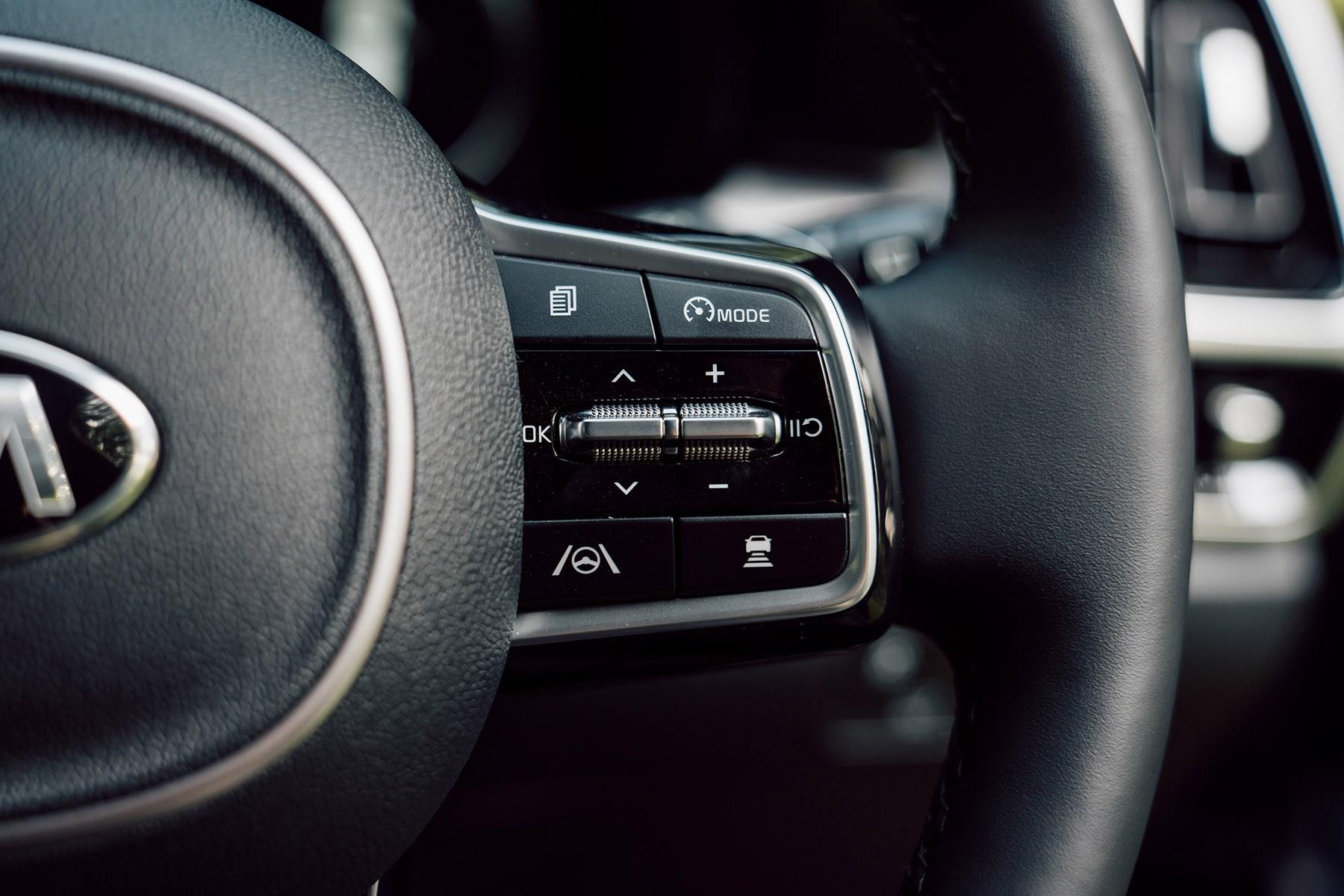 Kia Sorento 2020 cruise control buttons