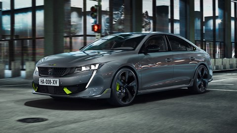 2020 Peugeot 508 Sport Engineered - front three quarter