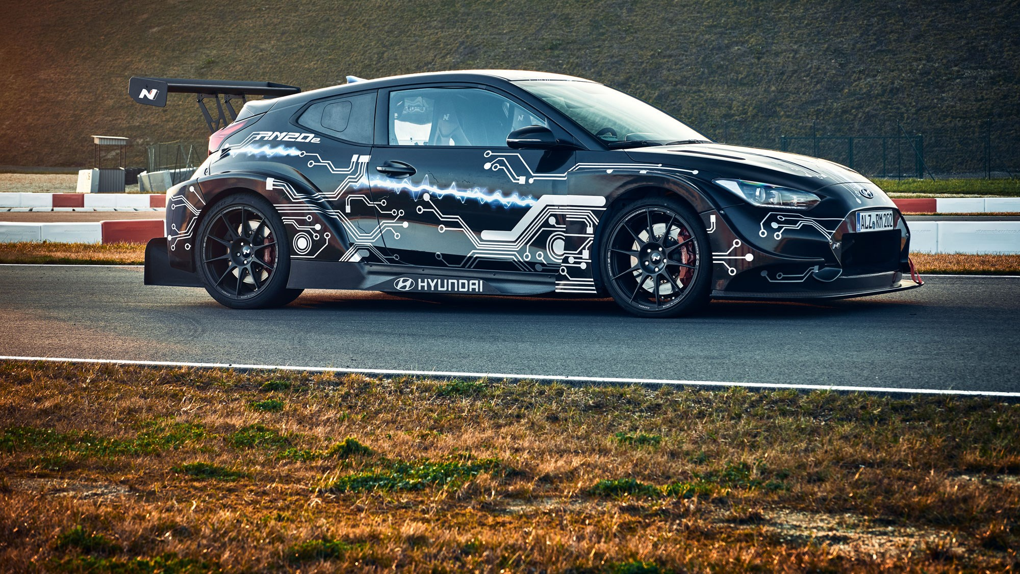 Hyundai's RM20e Prototype Is A 799 HP Electric Sports Car